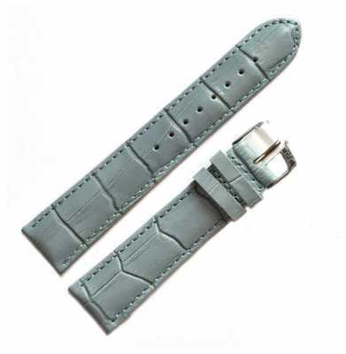 Morellato Strap Only - Samba Alligator Light Blue 18mm A01X2704656068CR18