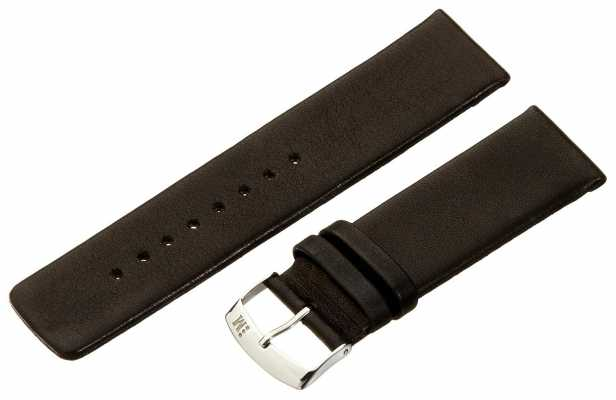 Morellato Large Napa Leather Black 22mm A01X3076875019CR22