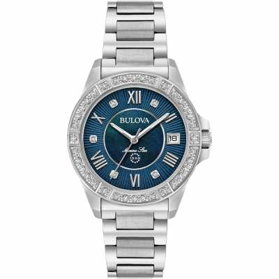 Bulova Ladies Marine Star Diamond 96R215