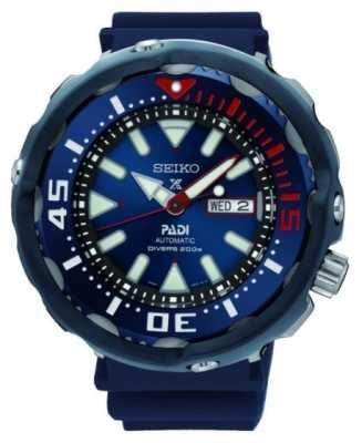 Seiko Mens Prospex Divers Padi Special Edition Automatic Blue Dial SRPA83K1