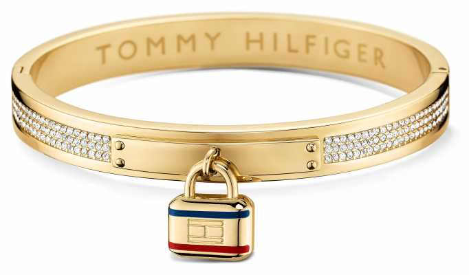 Tommy Hilfiger Womens Gold Plated Bangle 2700710
