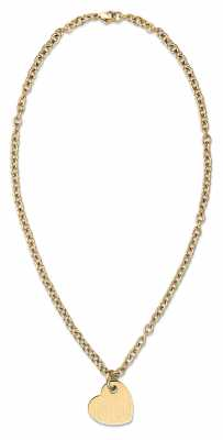 Tommy Hilfiger Womens Gold Plated Heart Necklace 2700716