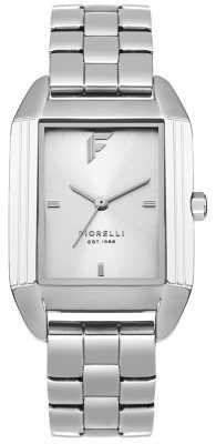 Fiorelli Womans Silver Bracelet Pale Silver Dial FO034SM