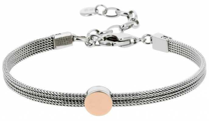 Skagen Womens Stainless Steel Rose Gold Plated Bracelet SKJ0956998