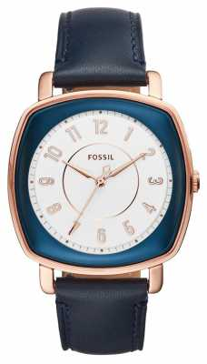 Fossil Womans Idealist Navy Leather ES4197