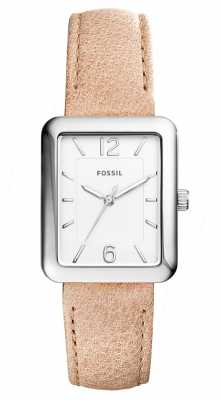 Fossil Womans Atwater Beige Leather ES4243