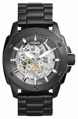 Fossil Mens Machine Black Metal ME3080