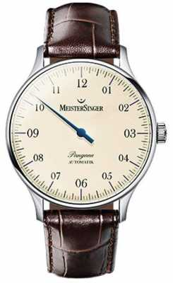 MeisterSinger Mens Classic Pangaea Automatic Ivory PM903