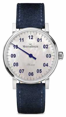 MeisterSinger Unisex Form And Style Phanero Hand Wound Mother Of Pearl PHM1B