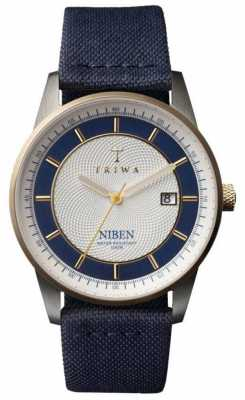 Triwa Unisex Duke Niben Navy Classic Canvas NIST104-CL060712
