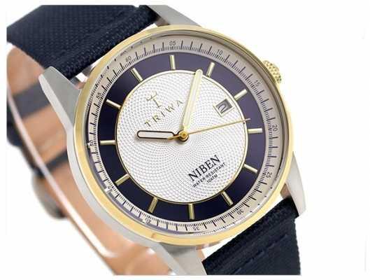Triwa Unisex Duke Niben Navy Classic Canvas NIST104-CL060712