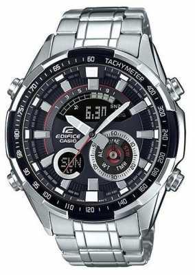 Casio Edifice Watch With Tachymeter ERA-600D-1AVUEF