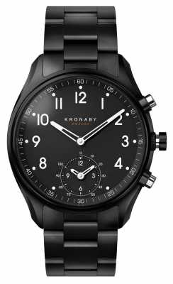 Kronaby APEX Bluetooth Black PVD Metal Strap A1000-0731