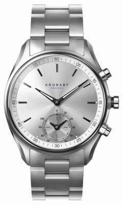 Kronaby SEKEL Bluetooth Stainles Steel Strap watch A1000-0715