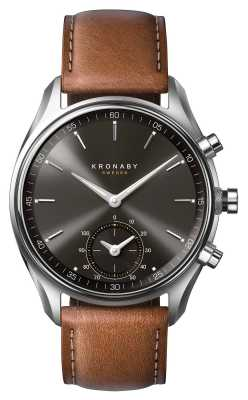 Kronaby SEKEL bluetooth Brown Leather A1000-0719