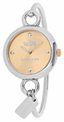 Coach Womans Stainless Steel Hangtag Watch 14502688