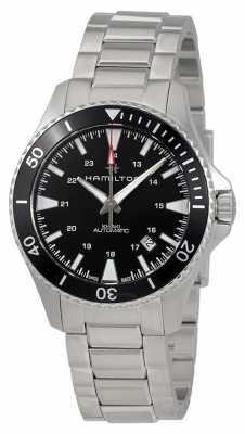 Hamilton Mens Khaki Navy Scuba Automatic Steel H82335131
