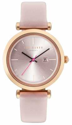 Ted Baker Womans Ava 36mm Rose Gold Case Pink Watch TE10031518