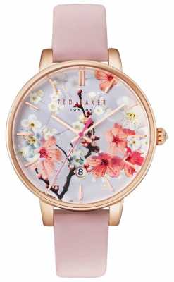Ted Baker Womans Kate Oriental Floral Dial Pink TE10031544