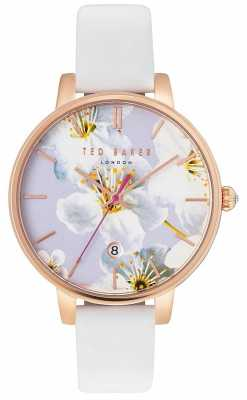 Ted Baker Womans Kate Floral Dial White TE10031545