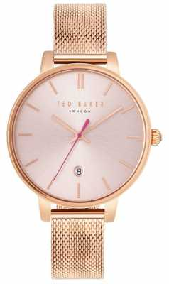 Ted Baker Womans Kate Rose Gold Mesh Bracelet TE10031548