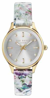 Ted Baker Womans Zoe Enchantment Floral Strap Grey TE10031554