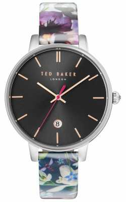 Ted Baker Womans Kate Floral Strap Black Dial TE10031549