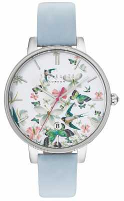 Ted Baker Womans Kate Floral Dial Blue TE10031551