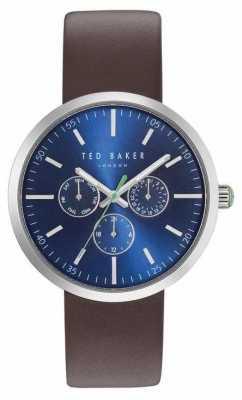 Ted Baker Brown Strap Jack Watch TE10031500