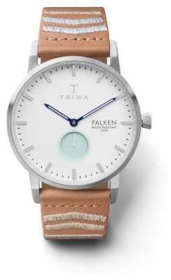 Triwa Unisex Wave Falken Embroidered Tan Classic FAST114-CL010612