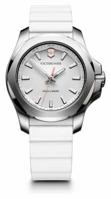 Victorinox Swiss Army Womans I.N.O.X V White Rubber 241769