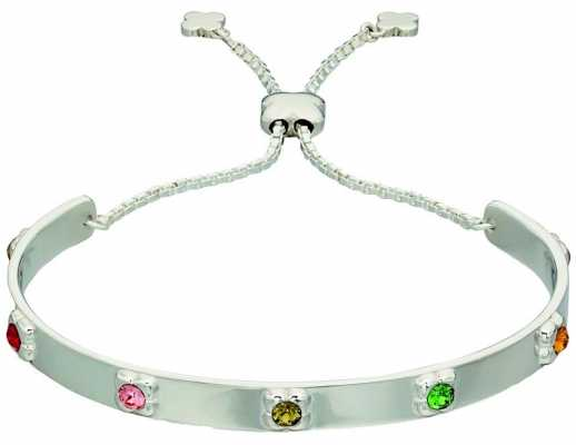 Orla Kiely Womans Sterling Silver Flower Toggle Bracelet B4850