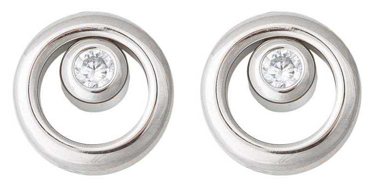 Skagen Womans Stainless Steel Elin Earrings SKJ0836040