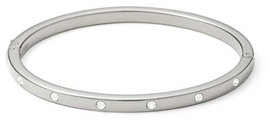 Fossil Womans Vintage Glitz Steel Bangle JF00841040