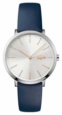 Lacoste Womans Moon Blue Leather Strap 2000986