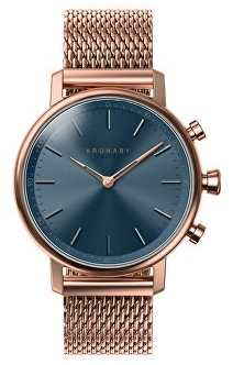 Kronaby CARAT Rose Gold Blue Dial A1000-0668