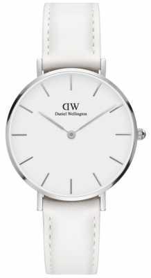 Daniel Wellington Classic Petite Bondi 32mm White Leather Strap DW00100189