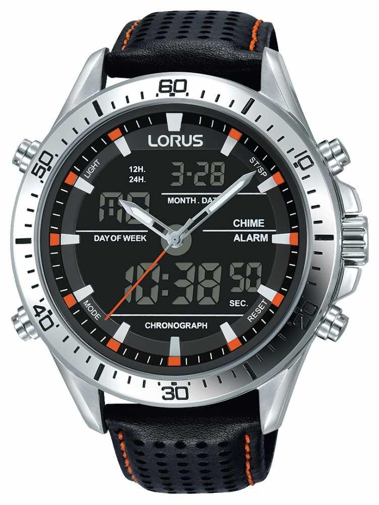 how to set lorus digital watch