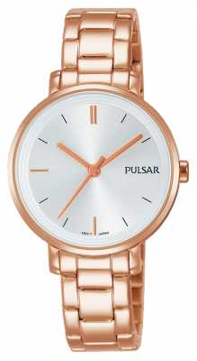 Pulsar WomansRose Gold Plated Stainless Steel Bracelet PH8340X1