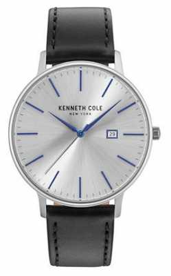 Kenneth Cole Mens Two Tone Steel Bracelet Silver Date Dial KC15095003
