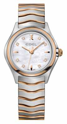 EBEL Wave Womens Two-tone rose Gold Watch 1216324