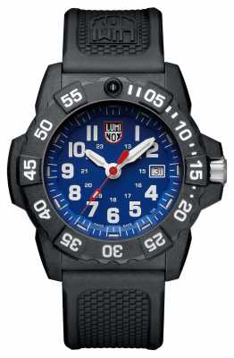 Luminox Navy Seal 3500 Blue Dial PU Black Strap XS.3503
