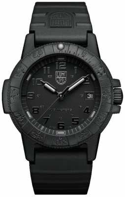 Luminox Sea Turtle 0300 Series Blackout Black PU Strap XS.0301.BO