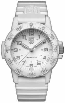 Luminox Sea Turtle 0300 Series Whiteout PU Strap XS.0307.WO