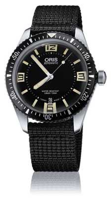 Oris Divers Sixty-five Automatic Fabric Strap Black Dial 01 733 7707 4064-07 5 20 24