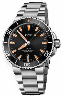 Oris Aquis Date Automatic Stainless Steel Black Dial 01 733 7730 4159-07 8 24 05PEB