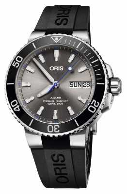 Oris Aquis Hammerhead Limited Edition Date Automatic Rubber 01 752 7733 4183-SET RS