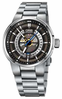 Oris Williams Engine Date Automatic Stainless Steel 01 733 7740 4154-07 8 24 50S