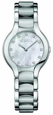 EBEL Womens Beluga Diamond Stainless Steel 1216038