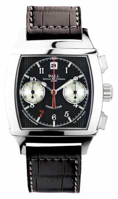 Ball Watch Company Vanderbilt Black Dial Chronograph Limited Edition Conductor CM2068D-LJ-BK